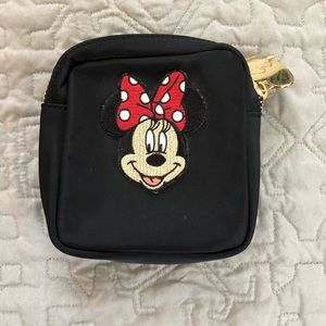 Stoney Clover Lane Mini Pouch with Minnie Patch